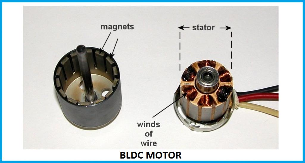 اجزای داخلی موتور براشلس
