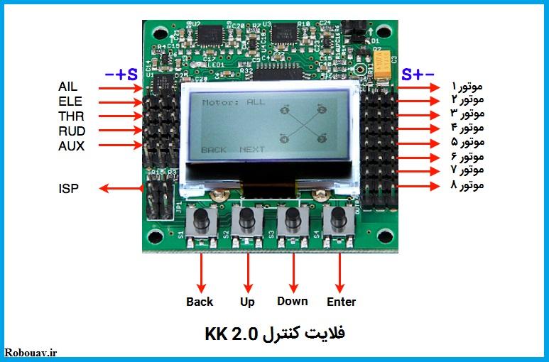 فلایت کنترل KK2.0