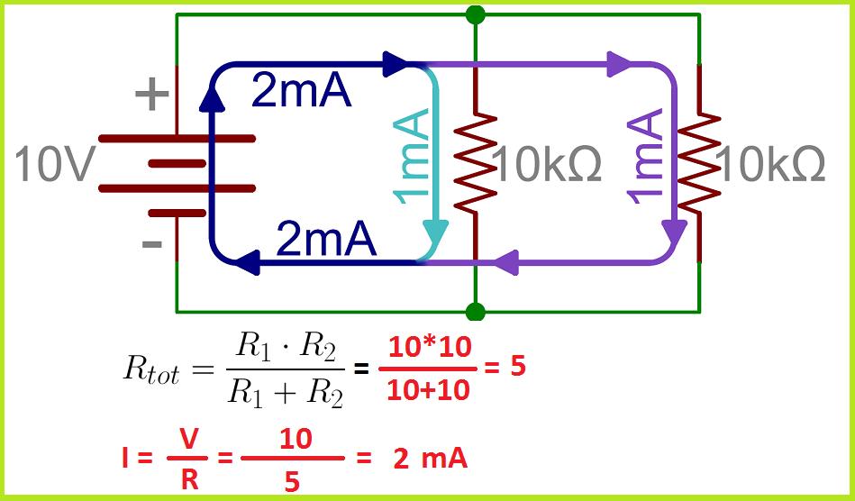 parallel resistor