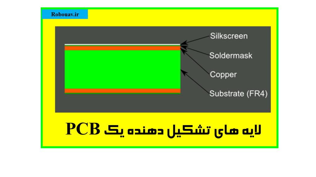 لایه های تشکیل دهنده یک PCB