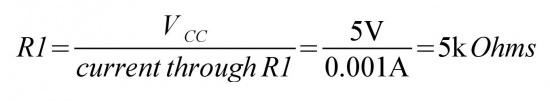 مقدار مقاومت R1