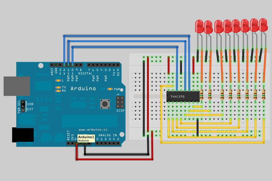 جلسه 11 دوره arduino- استفاده از شیفت رجیستر