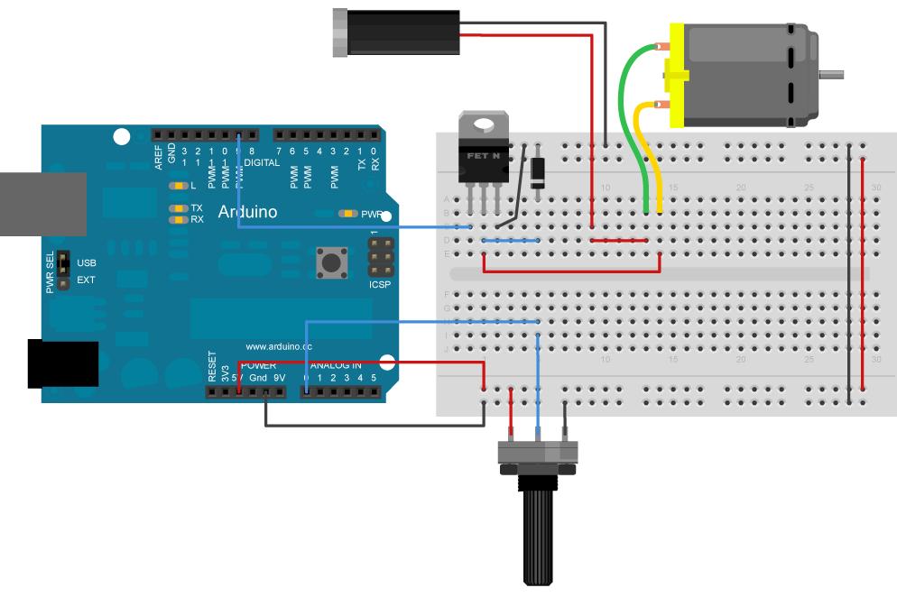 جلسه 12 دوره arduino- کنترل موتور DC