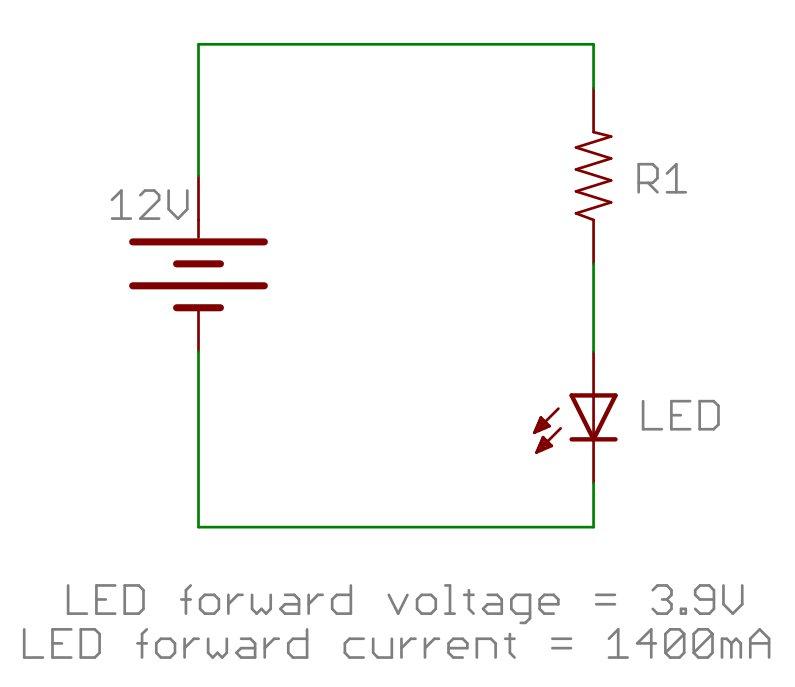 مقاومت LED