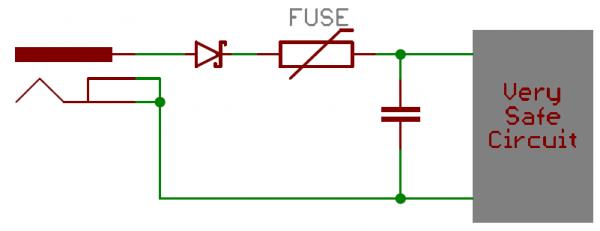 استفاده از دیود شاتکی برای محافظت از جریان برگشتی- کاربرد دیودها