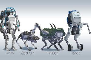 معرفی ربات Handle- ربات عجیب Boston Dynamics