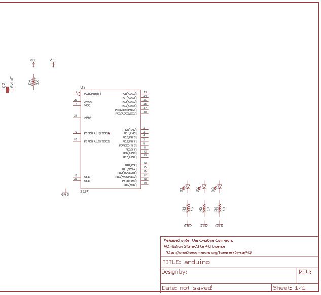 افزودن میکروکنترلر و سایر قطعات مداری