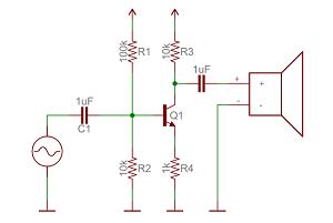 ترانزیستور به عنوان تقویت کننده