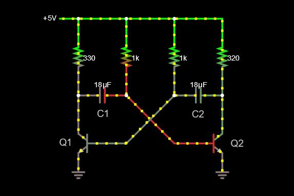 کاربرد ترانزیستورها – بخش اول { ترانزیستور در نقش یک کلید}