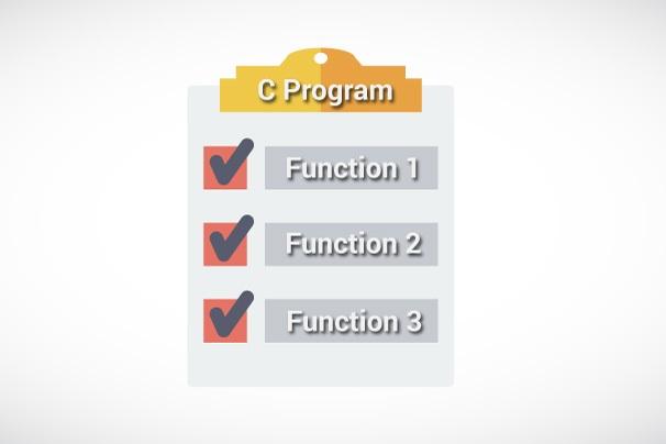 آموزش توابع در زبان C