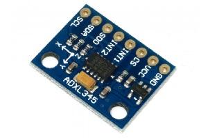 راه اندازی ماژول ADXL345 با آردوینو