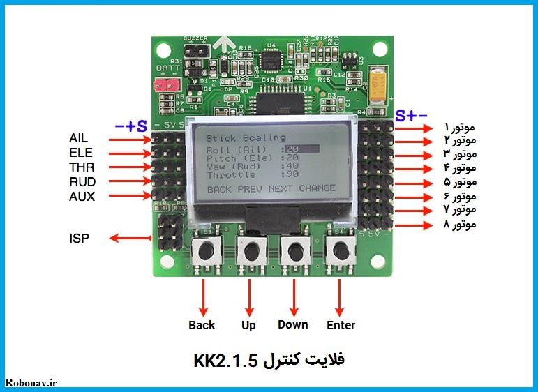 فلایت کنترل KK2.1.5