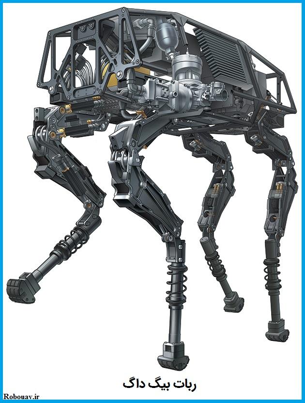 ربات بيگ داگ یکی از پیشرفته ترین ربات ها