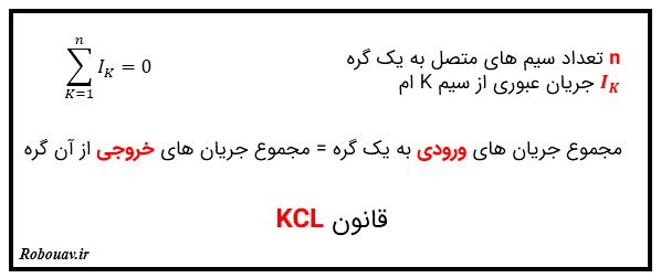 قوانین کیرشهف - قانون KCL