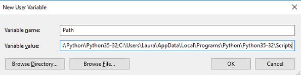 اضافه کردن پایتون به متغیر PATH - نصب pip در ویندوز