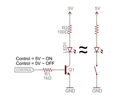 کاربرد ترانزیستورها به عنوان کلید - بخش اول