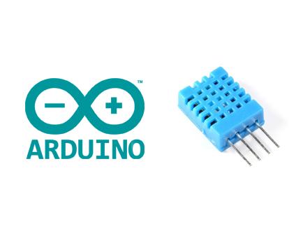 راه اندازی سنسور دمای DHT با آردوینو