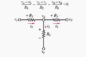 آموزش تحلیل گره (node analysis)